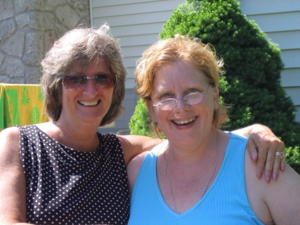 Deb and Lynne