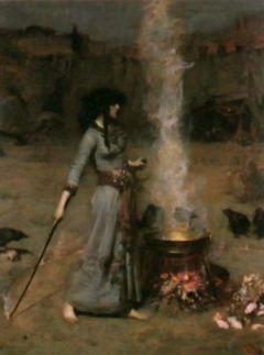 John William Waterhouse - The Magic Circle